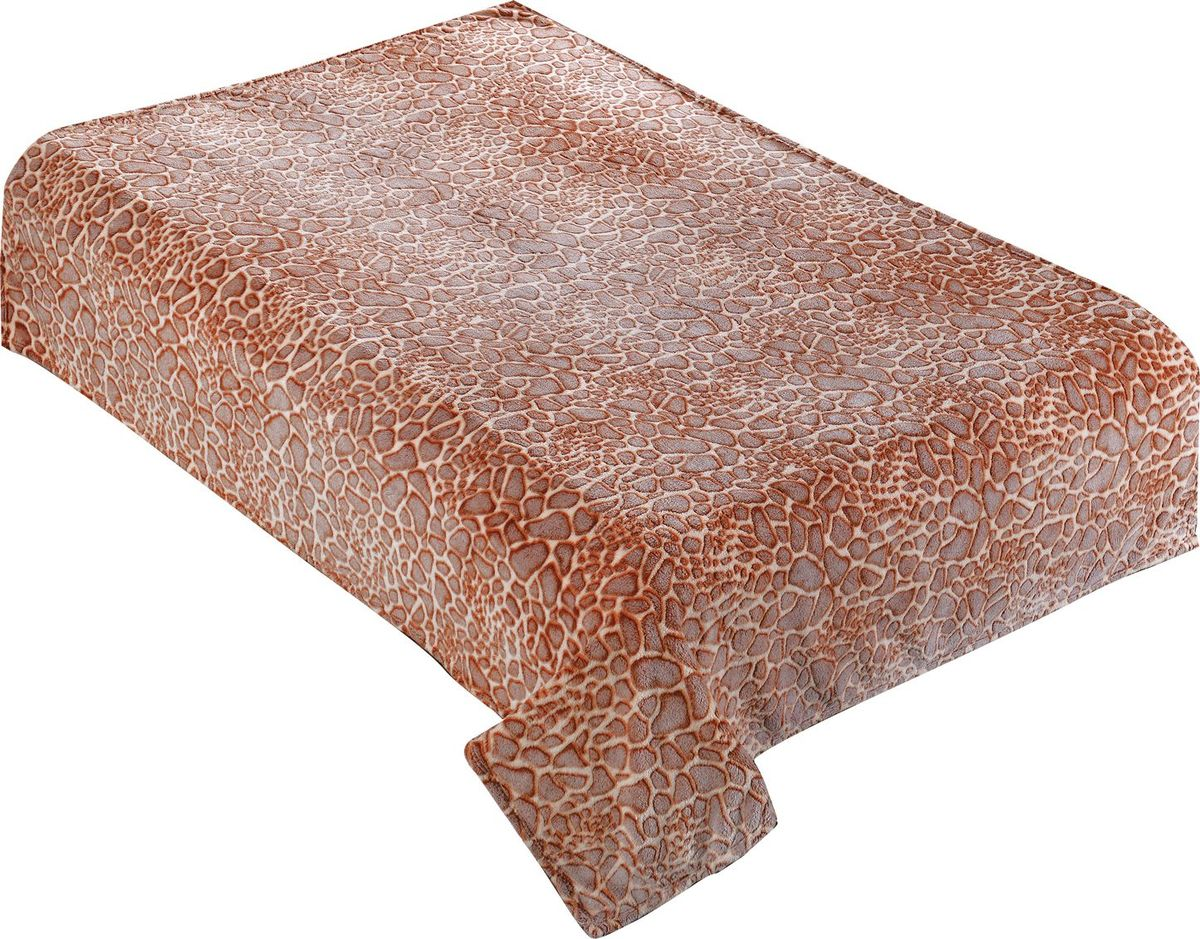 Плед Buenas Noches Bamboo, 200 х 220 см. 8675486754Пледы Buenas noches из колекции Bamboo - классические дизайны в бежево-коричневой цветовой гамме, объесный рисунок и исключительная мягкость. Ткань выполнена из 100% полиестера, не линяет, не деформируется. Этот плед универсален - может использоваться в качестве пледа, легкого одеяла или нарядного покрывала..