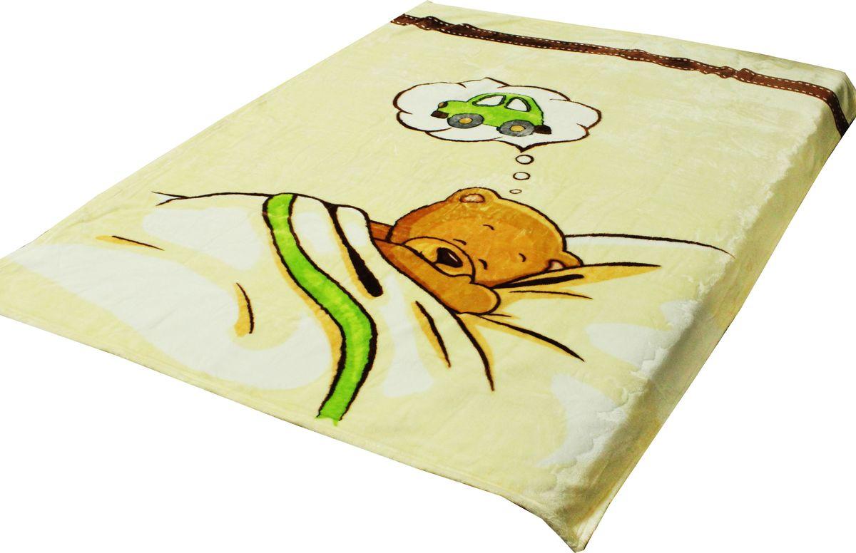 TexRepublic Плед детский Absolute Flanel Мишка в кроватке 110 х 140 см 8737687376Пледы TexRepublic фланель - яркие, легкие и необыкновенно мягкие. Ткань выполнена из 100% полиестра по новейшей технологии. Процесс расщепления волокна и дополнительные расчесывания делают эти пледы особенно воздушными.