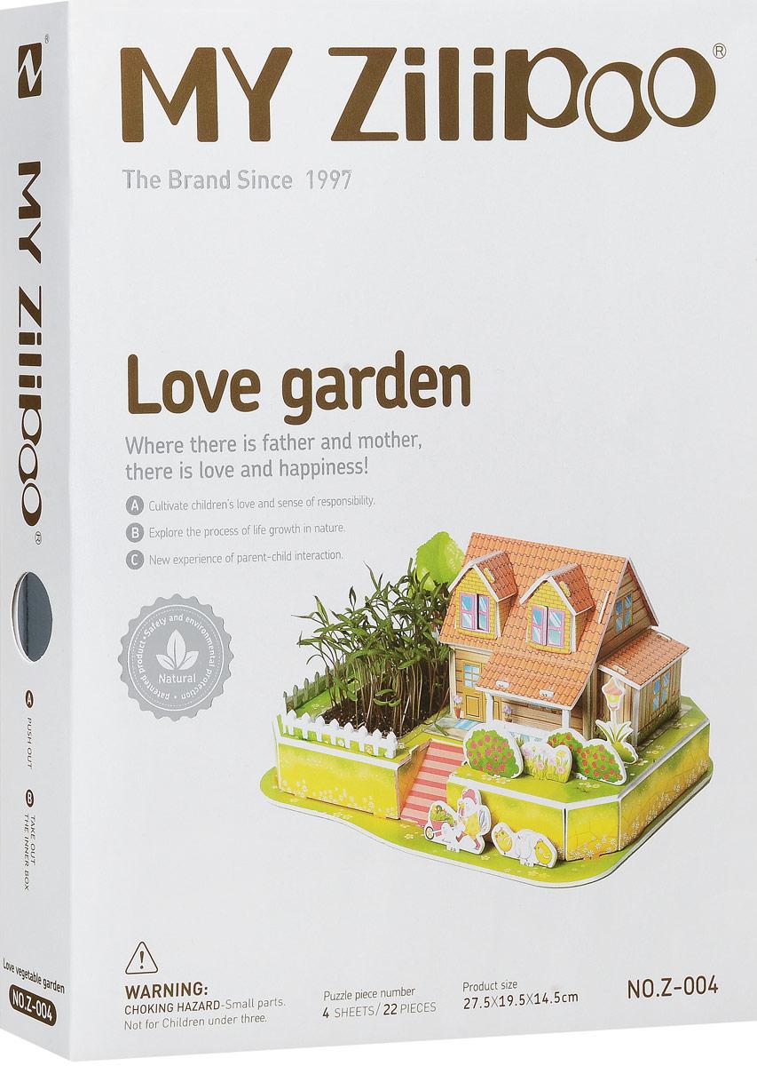 Zilipoo 3D Пазл Любимый сад