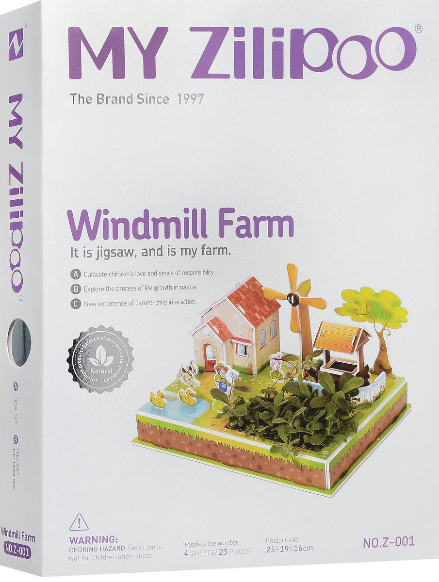 Zilipoo 3D Пазл Ферма и ветряная мельница