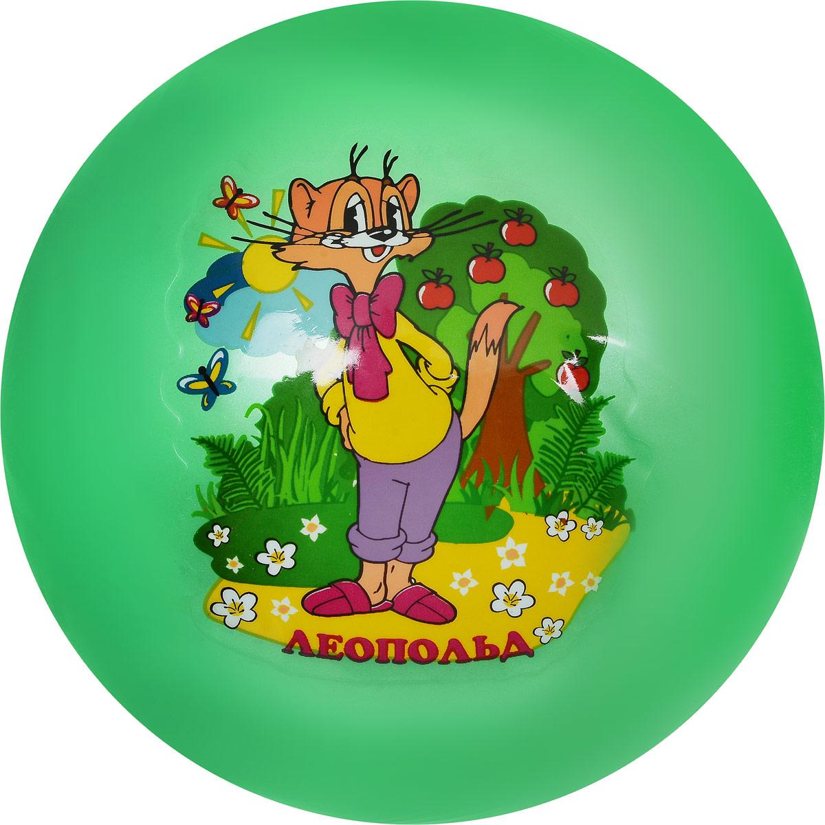 Играем вместе Мяч Кот Леопольд цвет зеленый 23 см