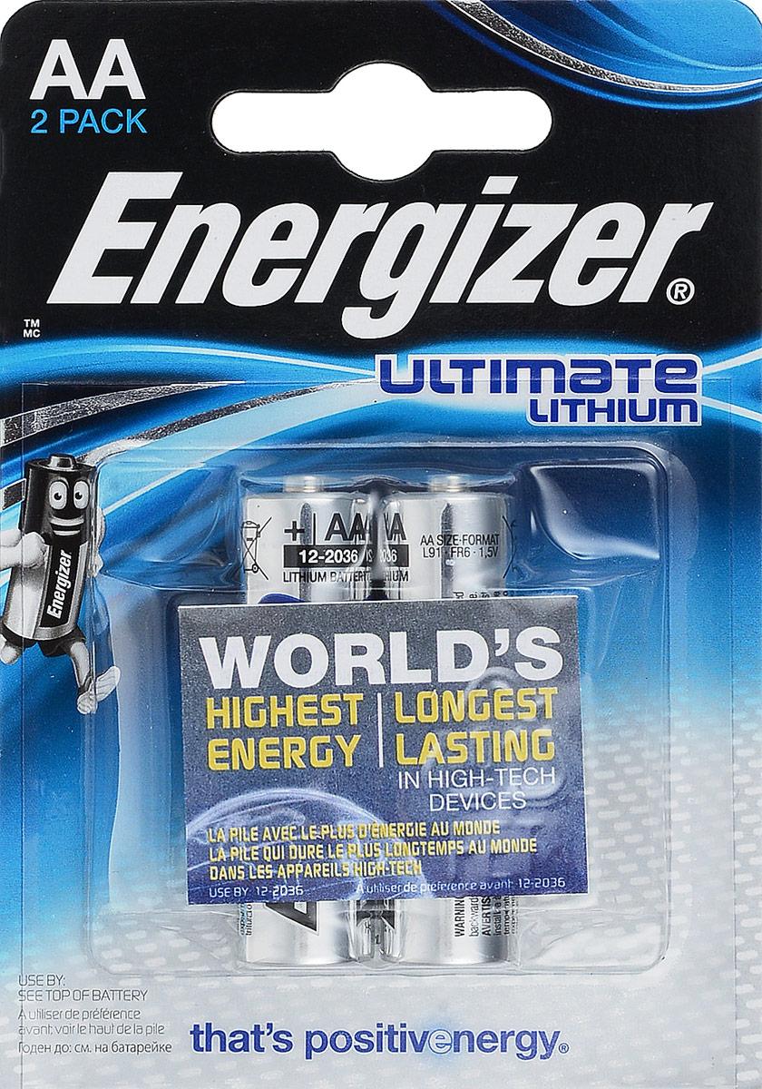 Батарейка литиевая ENERGIZER Ultim Lithium, тип АА, 2 шт636895/635180/636323/632961Батарейка литиевая ENERGIZER Ultim Lithium имеет непревзойденную емкость и вес на 33% меньше стандартных алкалиновых батареек.Не содержит ртути и кадмия. Характеристики:Тип элемента питания: литиевый. Выходное напряжение: 1,5 В. Размер батарейки: 1,5 см х 1,5 см х 5 см. Размер упаковки: 8 см х 11,5 см х 1,5 см. Изготовитель: Сингапур.Уважаемые клиенты! Обращаем ваше внимание на то, что упаковка может иметь несколько видов дизайна. Поставка осуществляется в зависимости от наличия на складе.