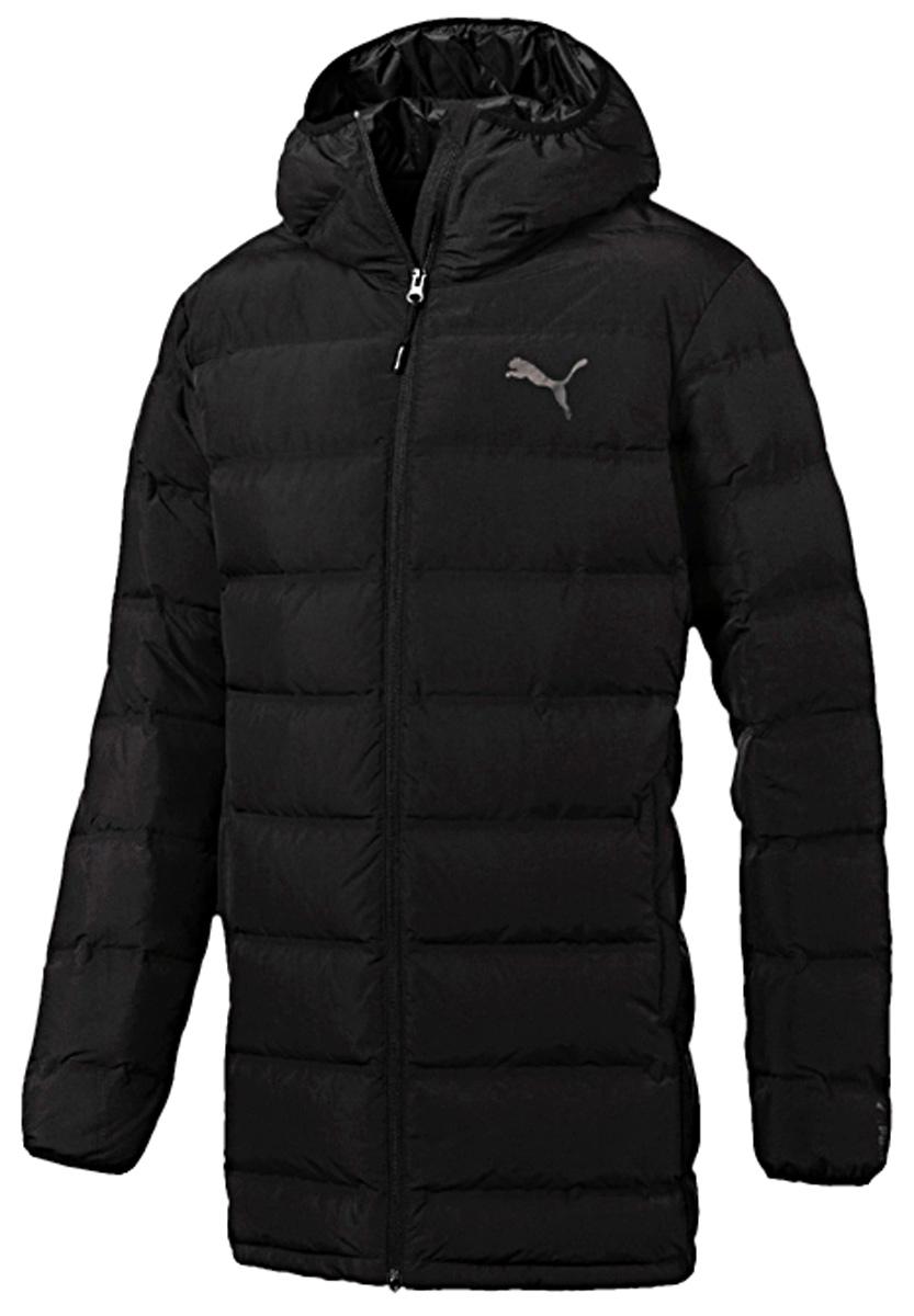 Пуховик мужской Puma Downguard 600 Down Jacket, цвет: черный. 59236201. Размер XXL (52/54)