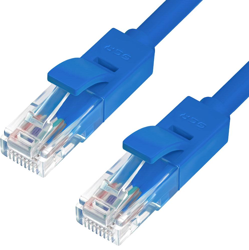 Greenconnect GCR-LNC01-C патч-корд (0,5 м)GCR-LNC01-C-0.5mПерекрестный патч-корд Greenconnect GCR-LNC01-C используется для подключения к интернету на высокой скорости. Подходит для подключения персональных компьютеров или ноутбуков, медиаплееров или игровых консолей PS4 / Xbox One, а также другой техники и устройств, у которых есть стандартный разъем подключения кабеля для интернета LAN RJ-45. Соответствие сетевого патч-корда Greenconnect GCR-LNC01-C современному стандарту UTP Cat5e обеспечивает возможность подключения к интернету со скоростью до 1 Гбит/с. С такой скоростью любимые фильмы будут загружаться меньше чем за полминуты, а музыка - мгновенно. Внешняя оболочка сетевого кабеля Greenconnect изготовлена из экологически чистого ПВХ, соответствующего европейскому стандарту безотходного производства RoHS.