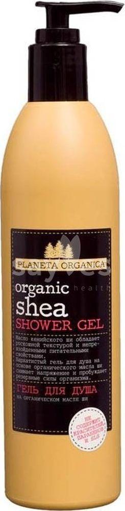 Planeta Organica Гель для душа Органик Ши, 360 мл071-2-1233Гель для душа на основе органического масла кенийского Ши насыщает кожу ценными маслами и витаминами, помогает снять напряжение и пробудить резервные силы организма.