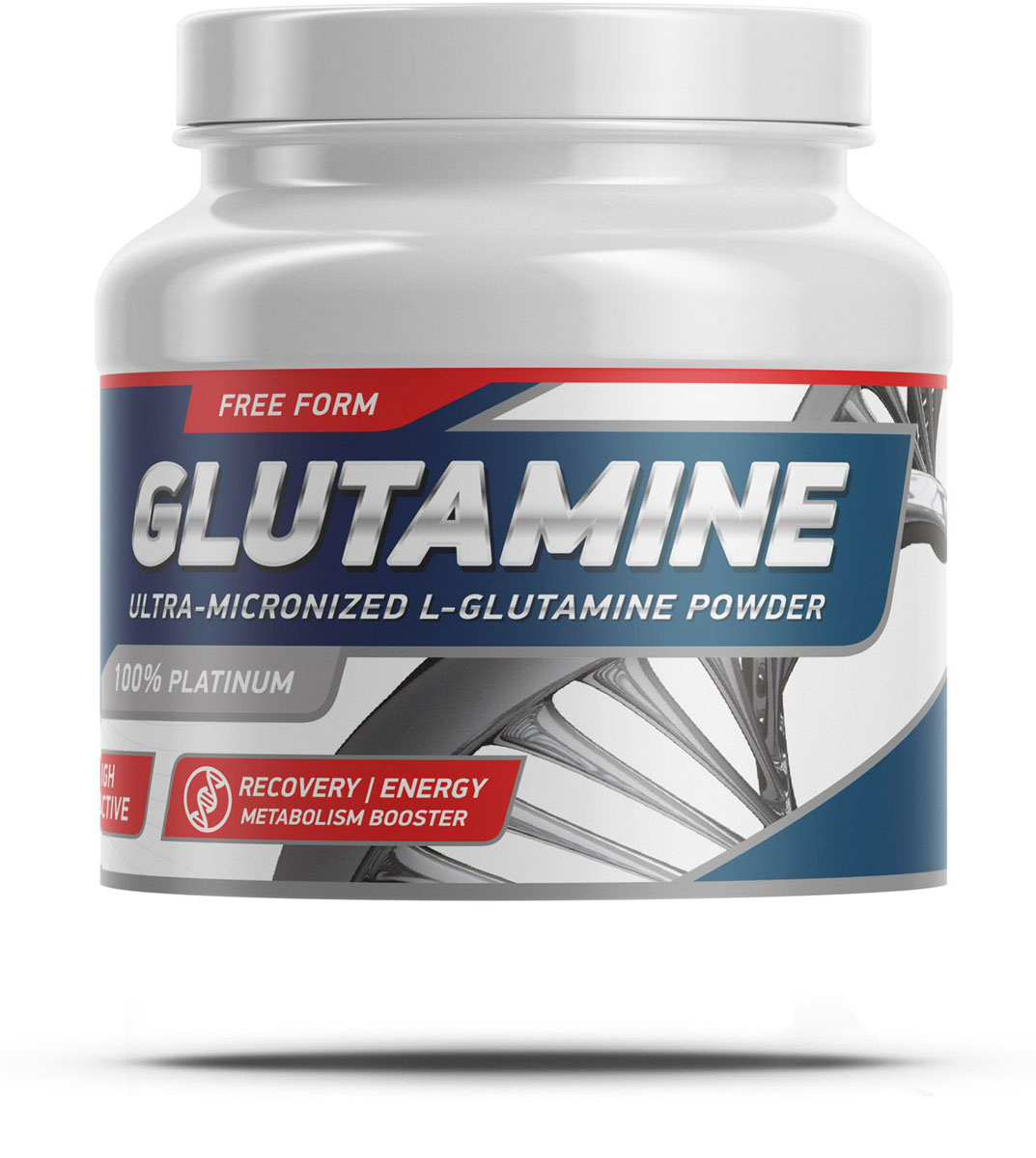 Аминокислоты Geneticlab Nutrition Glutamine Powder, без вкуса, 500 г
