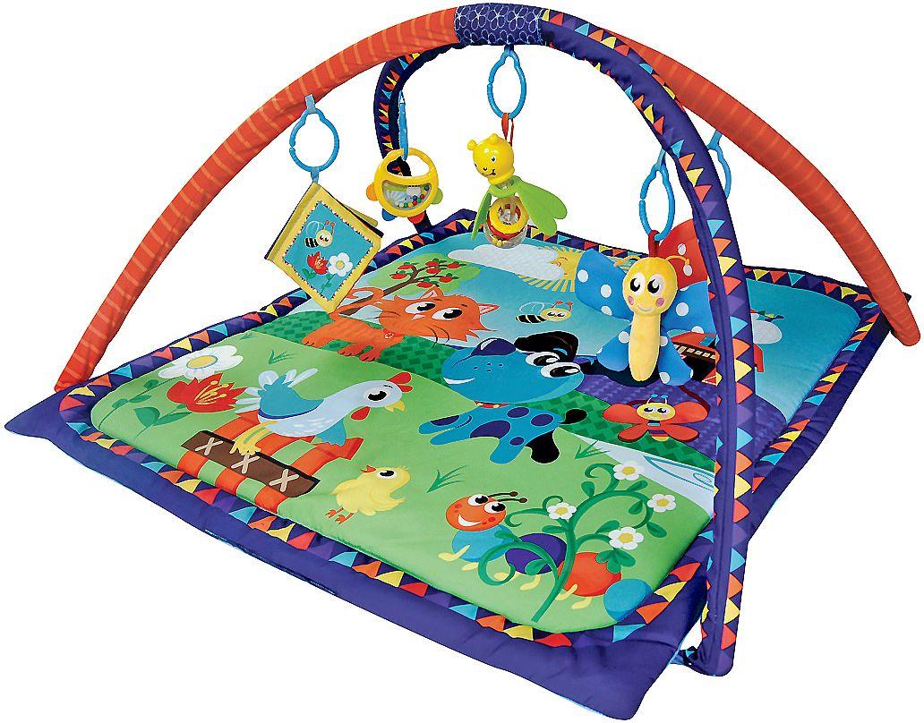 Жирафики Развивающий коврик Домашние животные