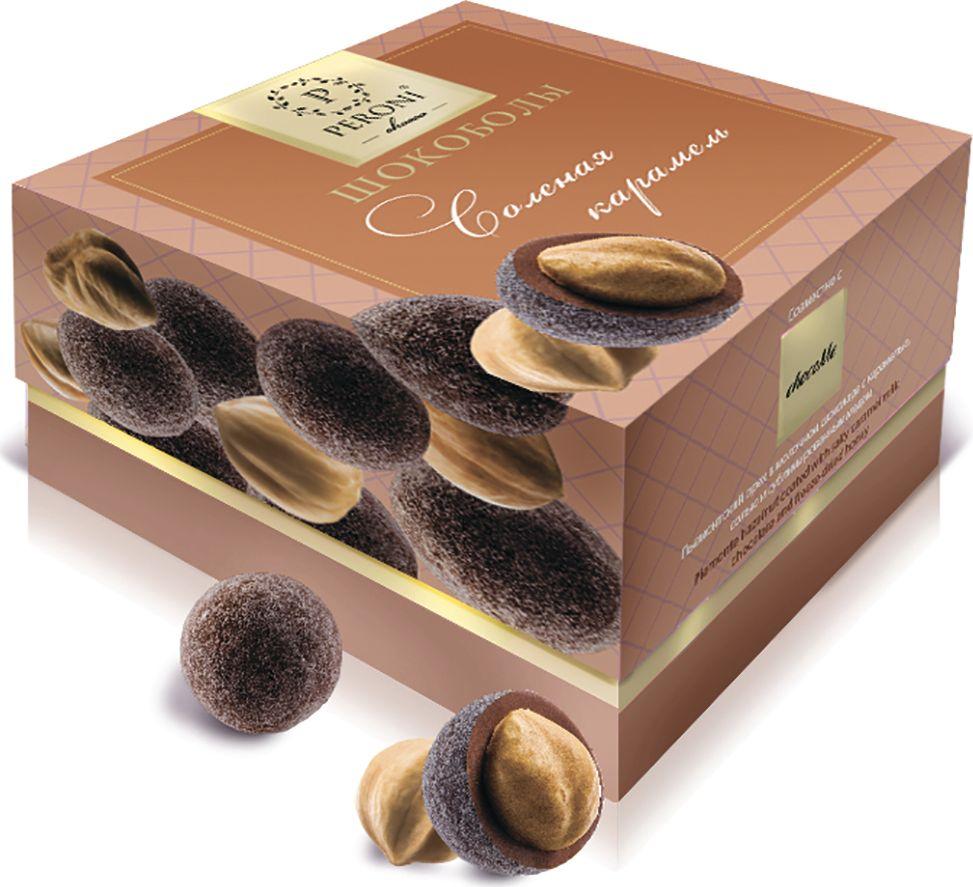 Peroni шокоболы соленая карамель, 100 г