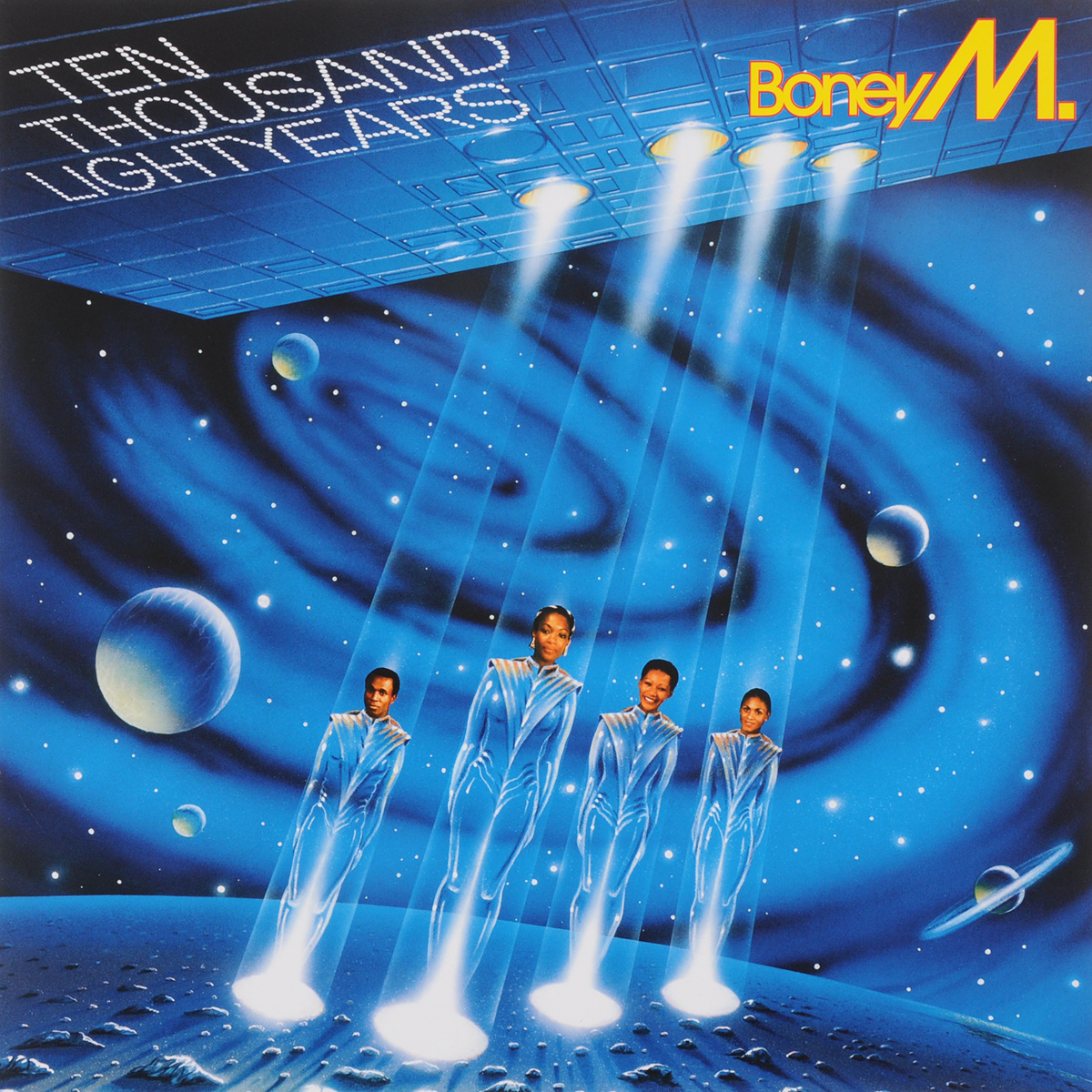 Boney M Boney M. 10.000 Lightyears (LP) boney m boney m diamonds 40th anniversary lp 3cd dvd