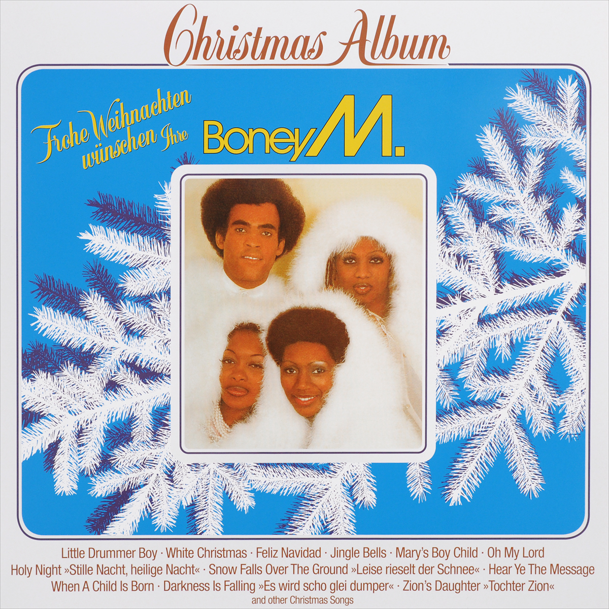 Boney M Boney M. Christmas With Boney M. (LP) виниловая пластинка boney m christmas album