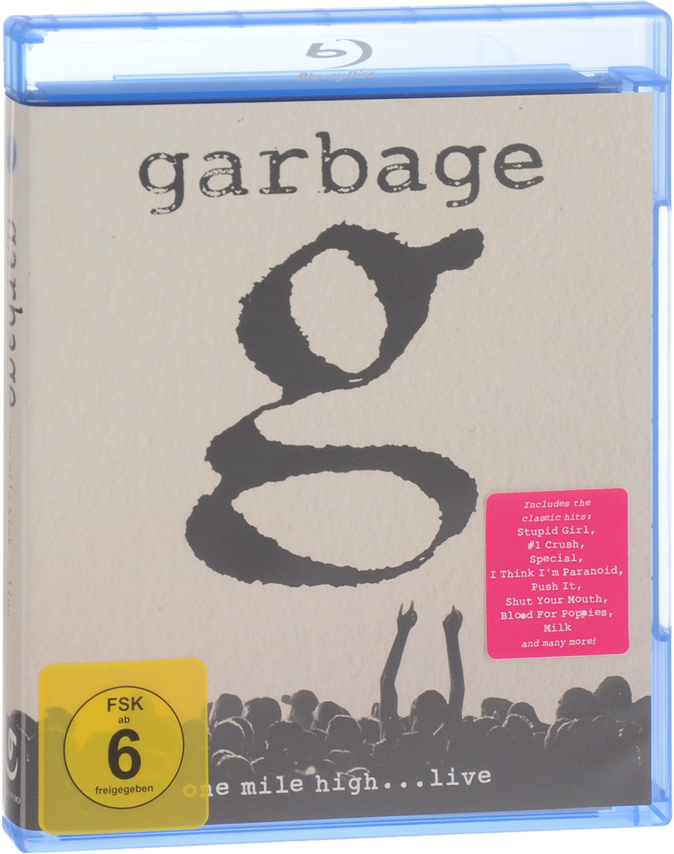 Garbage: One Mile High…Live (Blu-ray) bad company live at wembley blu ray
