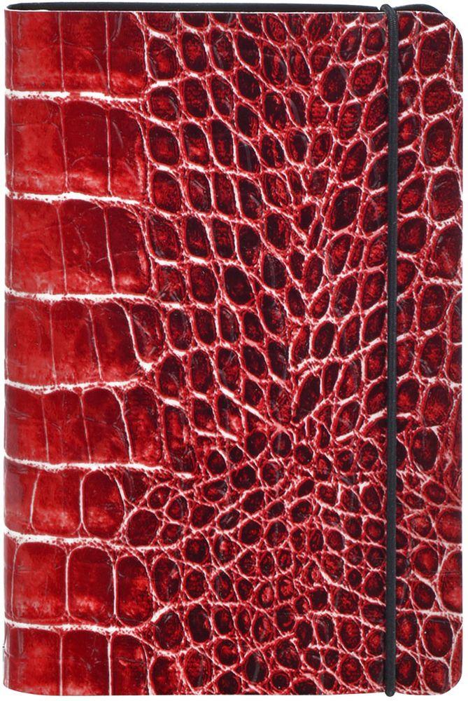 Index Записная книжка Croco 192 листа цвет терракотовый формат А5 -