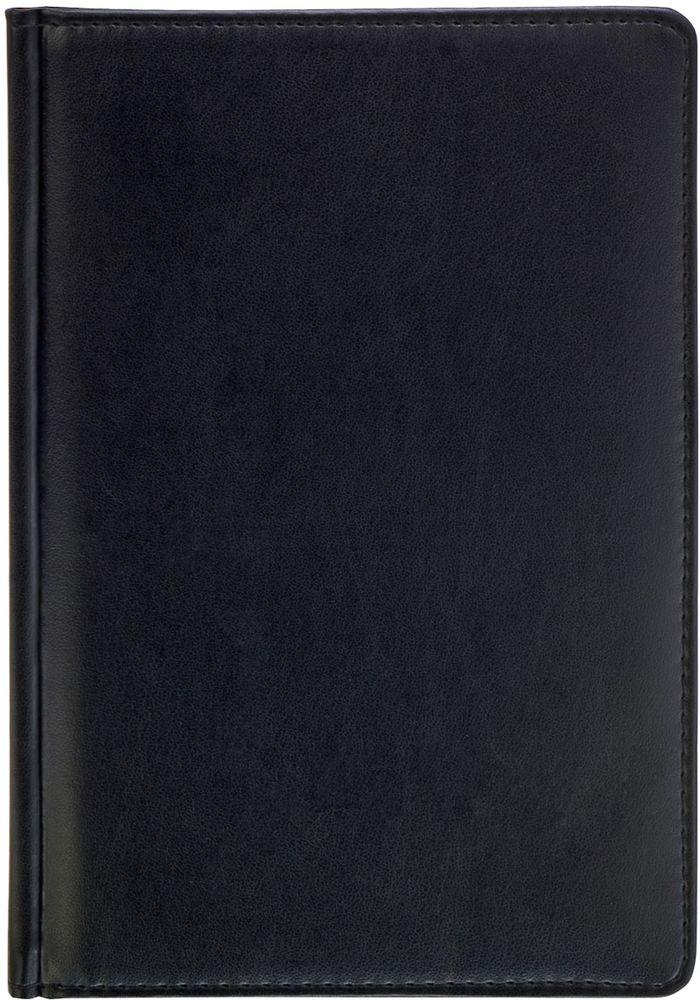 Index Ежедневник Avanti 336 листов цвет черный формат А5IDN117/A5/BKОбложка - высококачественная искусственная кожа с тиснением, прострочка по периметру, поролоновая подкладка. Внутренний блок - белый, офсет плотностью 70 г/м2, двухцветная печать. Переплет - твердый, каптал, ляссе. Дополнительные разделы: справочно - информационный блок, телефонно - адресная книга.336 страниц. Формат А5