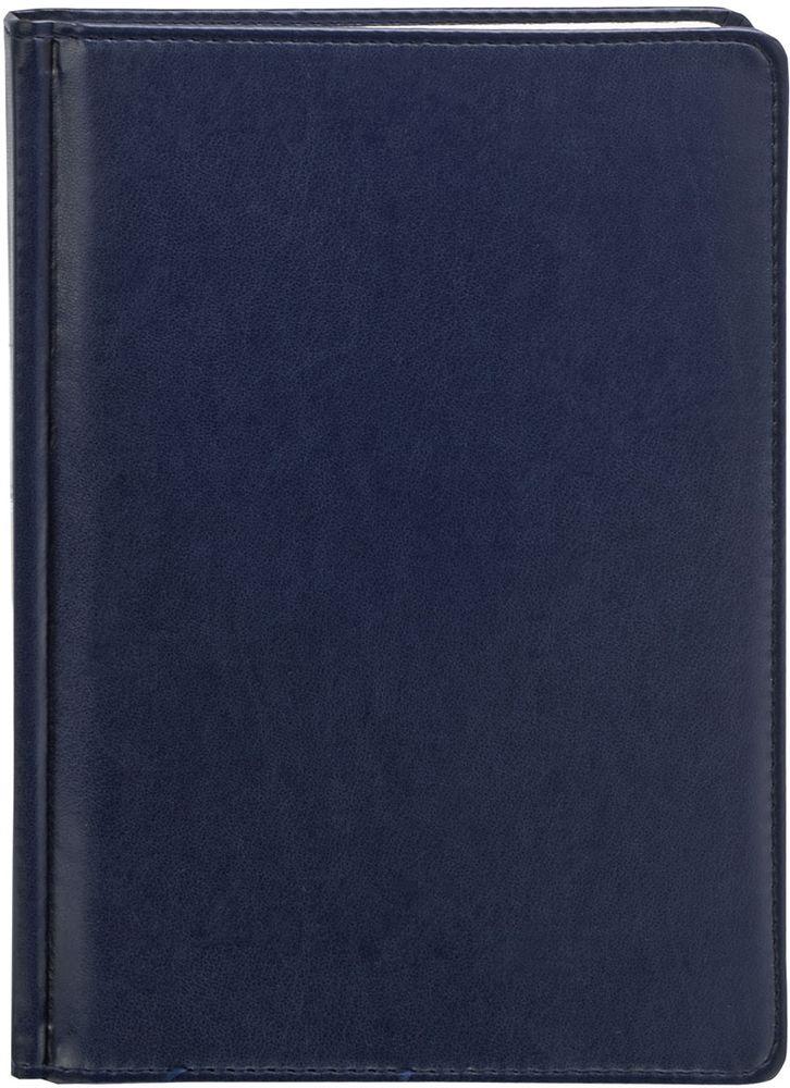 Index Ежедневник Avanti недатированный 336 листов цвет синий формат А5IDN117/A5/BUНедатированный ежедневник Index Avanti формата А5 изготовлен из высококачественной искусственной кожи с тиснением. Обложка с поролоновой прослойкой и прострочкой по периметру. Внутренний блок - белая офсетная бумага плотностью 70 г/м2, двухцветная печать. Переплет - твердый, каптал, ляссе. Дополнительные разделы: справочно-информационный блок, телефонно-адресная книга.