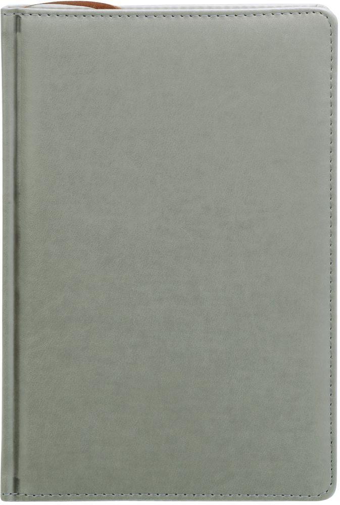 Index Ежедневник Avanti недатированный 336 листов цвет серый формат А5IDN117/A5/GRНедатированный ежедневник Index Avanti формата А5 изготовлен из высококачественной искусственной кожи с тиснением. Обложка с поролоновой прослойкой и прострочкой по периметру. Внутренний блок - белая офсетная бумага плотностью 70 г/м2, двухцветная печать. Переплет - твердый, каптал, ляссе. Дополнительные разделы: справочно-информационный блок, телефонно-адресная книга.