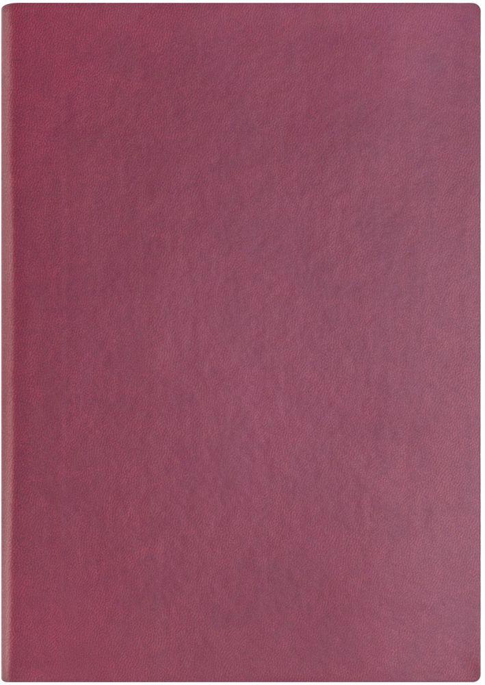 Index Ежедневник Spectrum 256 листов цвет бордовый формат А5IDN121/A5/RDГибкая обложка на резинке, карман для визиток; нахзац и форзац, ляссе и резинка в цвет обложки; тонированная бумага 70гр/м2, 1 цв.печать, ляссе, перфорированные уголки