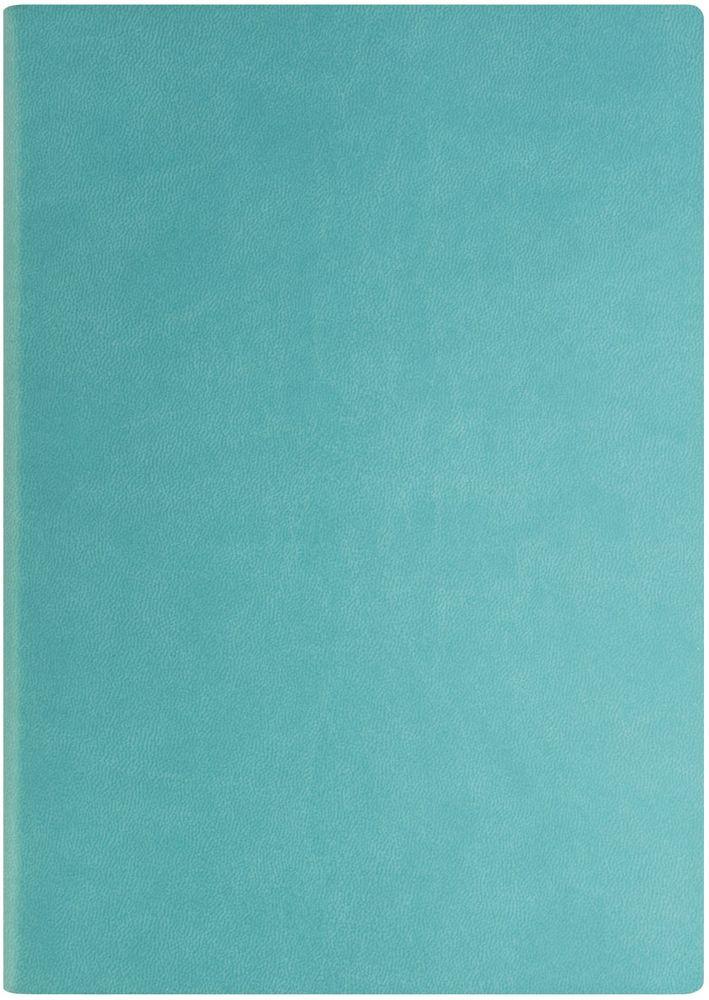 Index Ежедневник Spectrum 256 листов цвет бирюзовый формат А5IDN121/A5/TQГибкая обложка на резинке, карман для визиток; нахзац и форзац, ляссе и резинка в цвет обложки; тонированная бумага 70гр/м2, 1 цв.печать, ляссе, перфорированные уголки