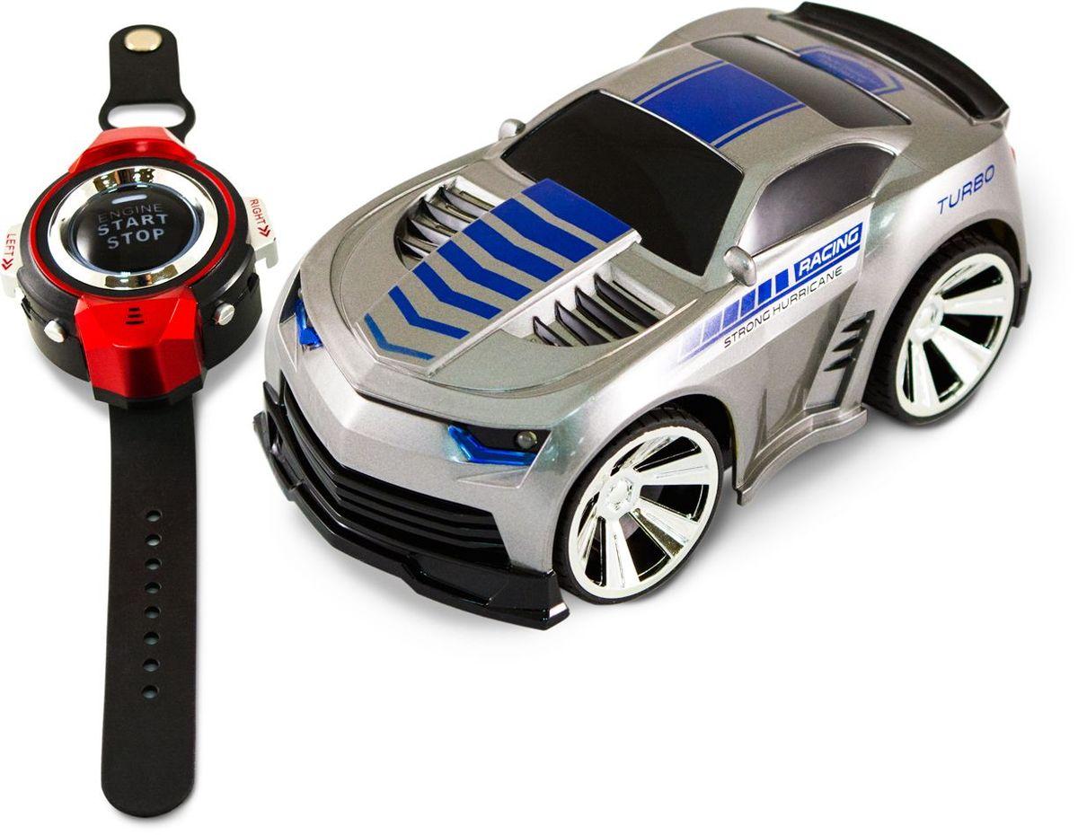 Pic'nMix Машина на радиоуправлении Турбо цвет серый машина трансмиссия стрельба водой на радиоуправлении fullfunc аккумулятор адаптер свет звук box а