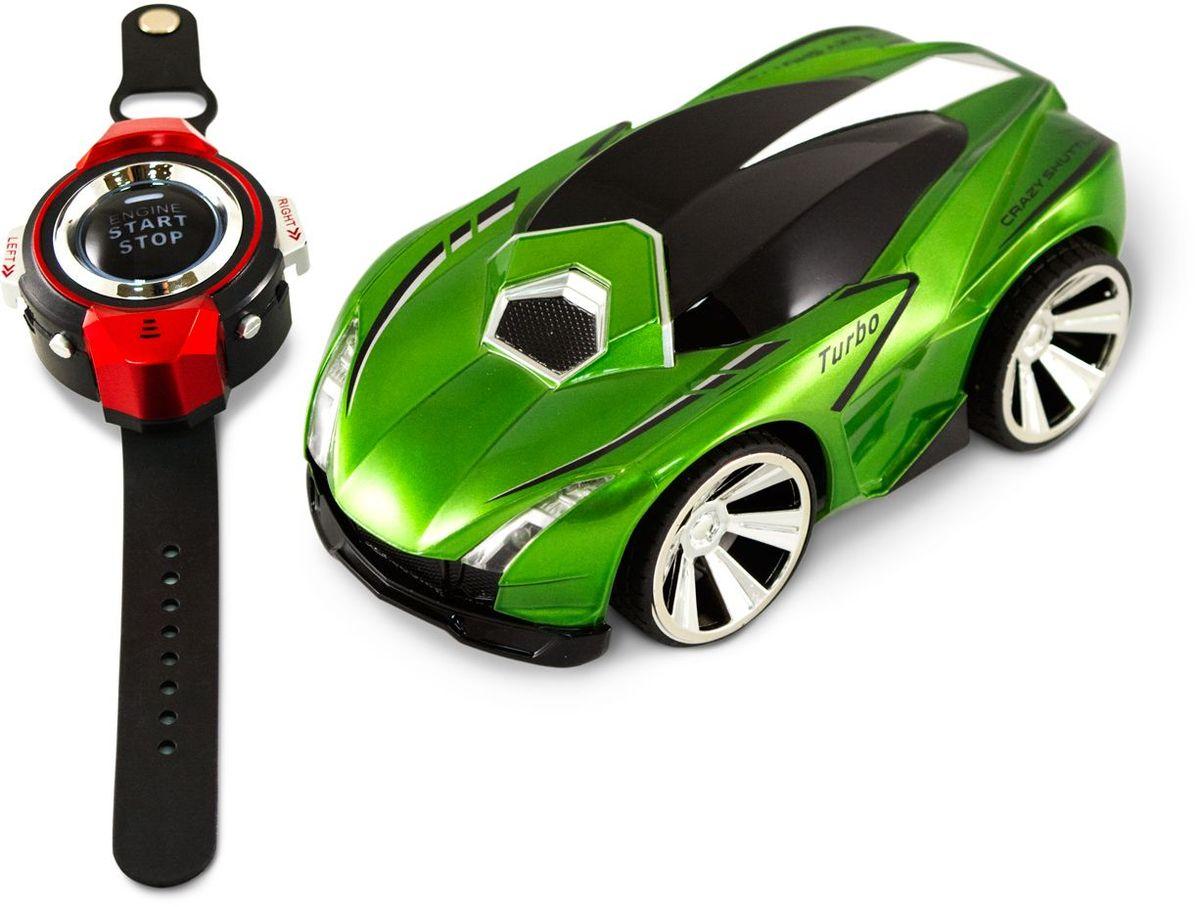 Pic'nMix Машина на радиоуправлении Турбо цвет зеленый машина трансмиссия стрельба водой на радиоуправлении fullfunc аккумулятор адаптер свет звук box а