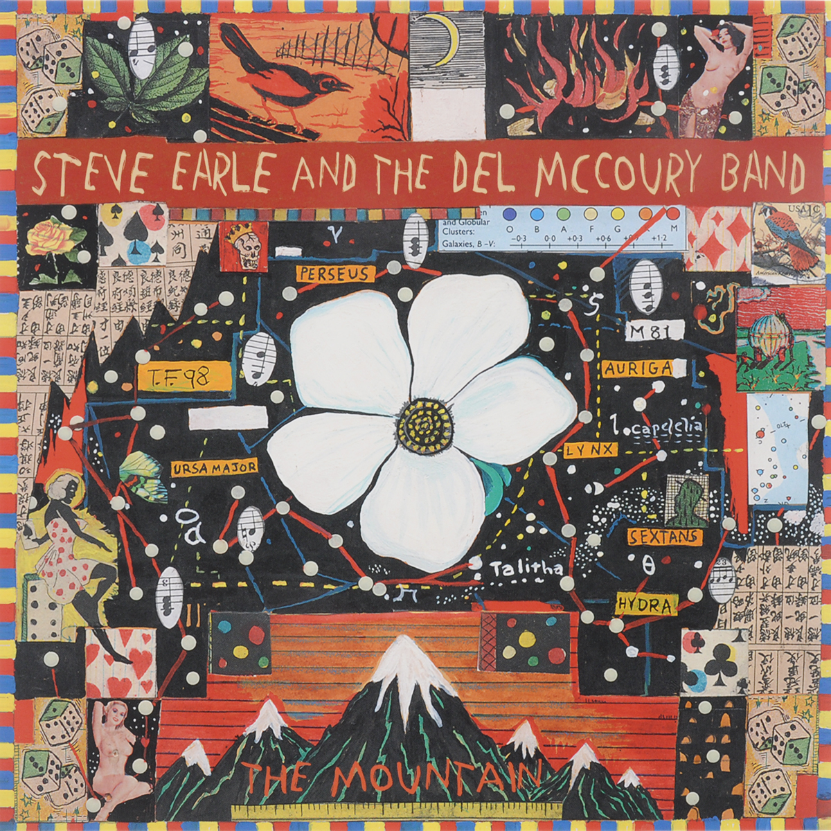 Стив Эрль Steve Earle & Del Mccour. The Mountain (2 LP)