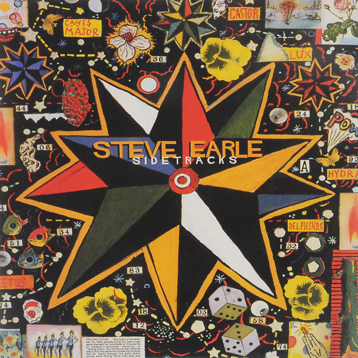 Стив Эрль Steve Earle. Sidetracks (LP)
