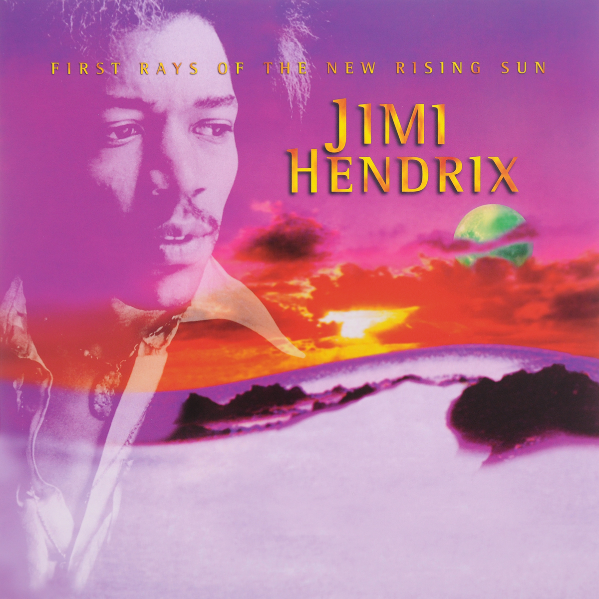 Джими Хендрикс Jimi Hendrix. First Rays Of The New Rising Sun (2 LP) red rising