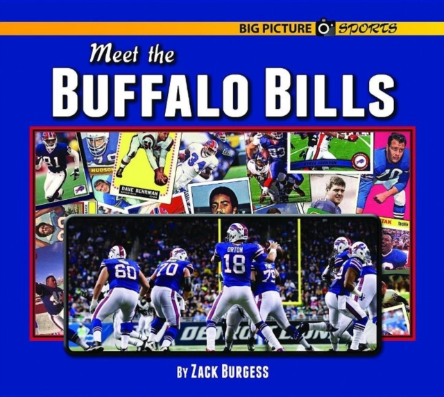 Meet the Buffalo Bills свитшот print bar buffalo bills буффало биллс