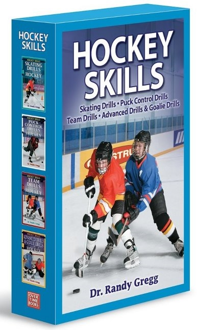 Hockey Skills Box Set: Advanced Drills, Puck Control, Team Drills, Skating Drills