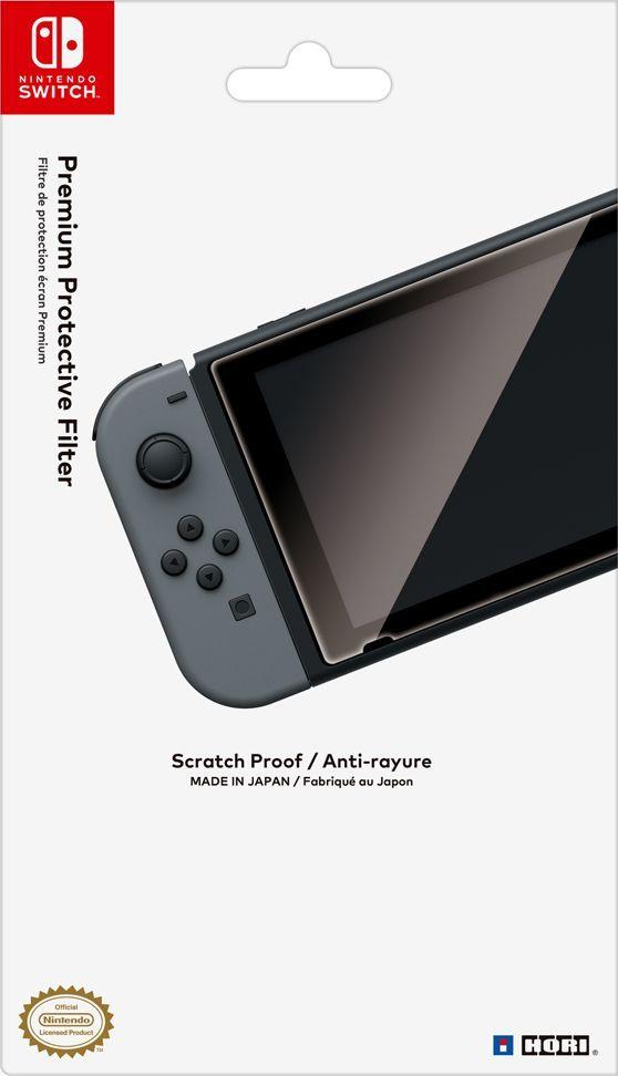 Hori защитная пленка для Nintendo Switch (NSW-032U)HR14Защитная пленка для Nintendo Switch поможет уберечь экран вашей консоли от ненужных потертостей и царапин.Достаточно просто клеится и при необходимости легко снимается.