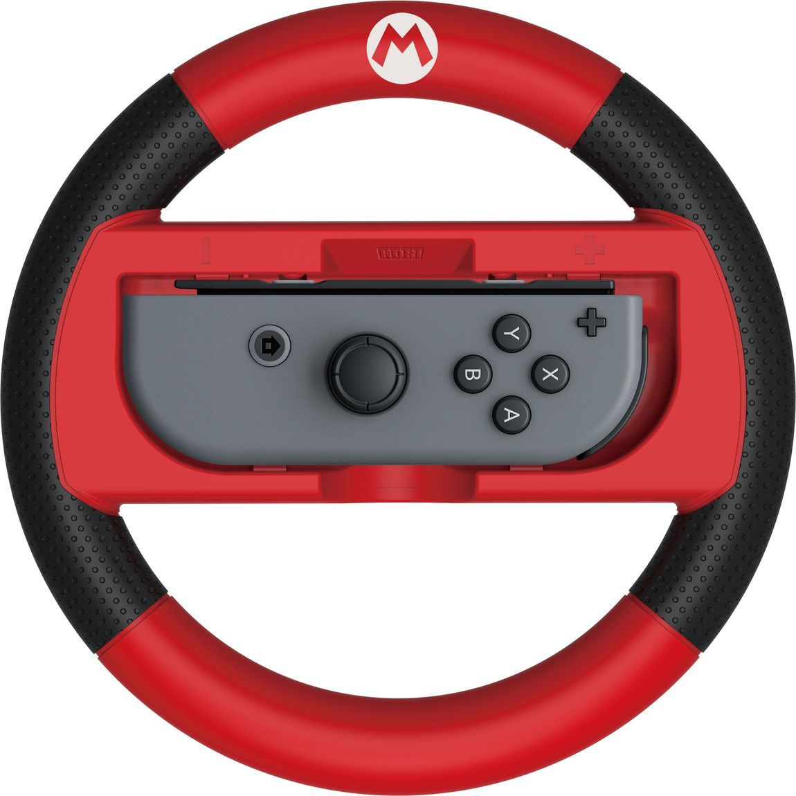 Hori Super Mario, Red руль для Nintendo Switch (NSW-054U)HR18Гоночный руль для Nintendo Switch с официальной лицензией NintendoСовместим с Joy-ConИдеально подходит для местного многопользовательского режимаБольший размер помогает полностью погрузиться в игруМатериал руля- текстурированное резиновое покрытиеБольшие триггеры для кнопок L / RМатериал- АБС пластик, ТПР (термопластическая резина)