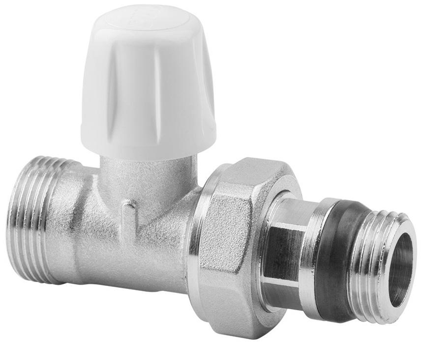 Вентиль радиаторный ICMA, 1/2, без ручки, с антипротечкой, прямой82815AD06 940