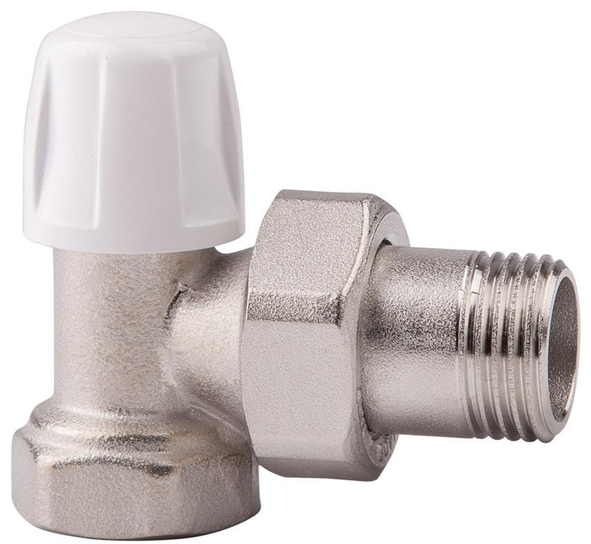 Вентиль регулировочный ICMA, нижний, угловой, 1/282805AD06