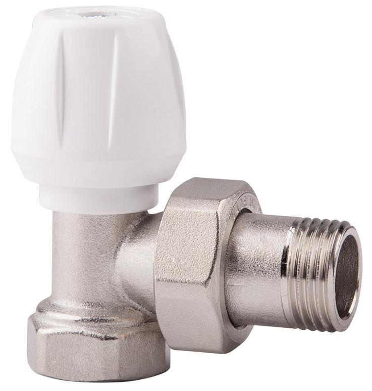 Вентиль ручной регулировки ICMA, угловой, 1/282803AD06