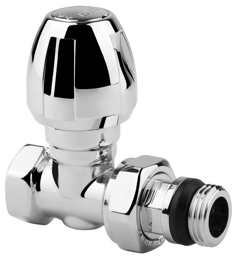Вентиль ручной регулировки ICMA, прямой, резьба 1/2821117AD07Ручной вентиль ICMA предназначен для регулировки теплового режима отопительного прибора путем изменения количества теплоносителя от нуля до величины, которая определена данным настроечным вентилем. Такой принцип регулирования позволяет производить плавную регулировку и снижать шумы, возникающие в системе отопления при движении теплоносителя.