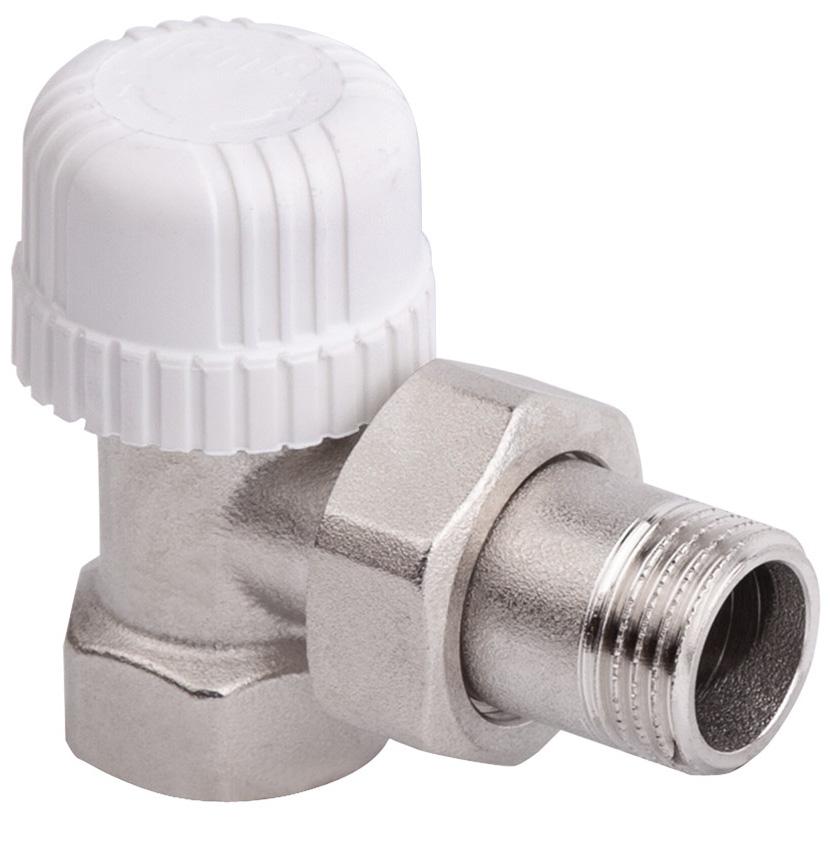 Вентиль термостатический ICMA, угловой, 3/482774AE06Угловой термостатический вентиль простой регулировки ICMA предназначен для установки с термостатическими головками. Выполнен из латуни с хромированным покрытием. Данная модель предназначена для железной трубы. Выбирайте термоголовки и сервоприводы с резьбой 28x1,5.