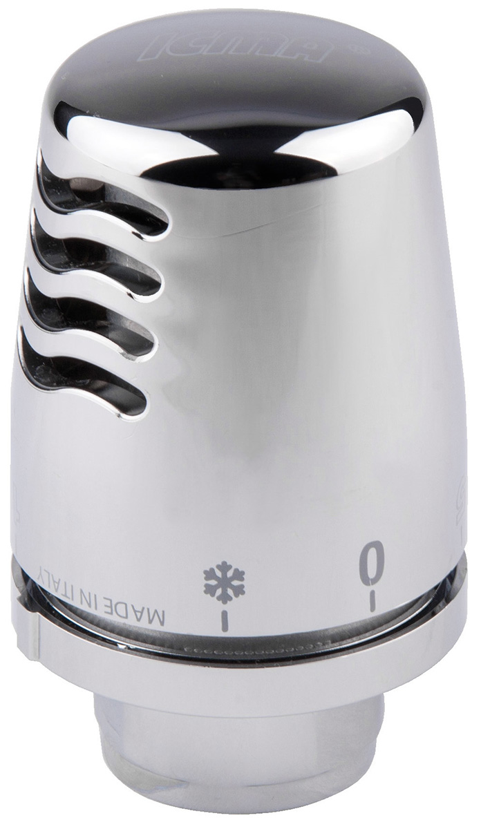 Головка термостатическая ICMA, 28 х 1,5 мм821099AC07Термостатическая головка ICMA с жидкостным элементом имеет современный дизайн. Выполнена из латуни с хромированным покрытием. Компактные рабочие детали выполнены из твердого и прочного пластика. Ограничитель и блок установки желаемой температуры работают быстро.