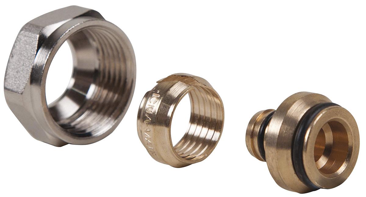 Евроконус ICMA, 16 х 2 мм, 3/4 редуктор давления icma миньон с подключением к манометру 1 2