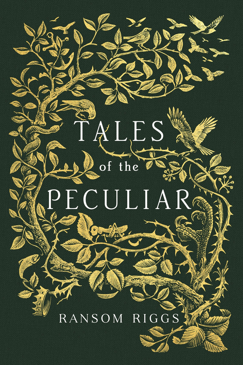 Tales of the Peculiar the crests