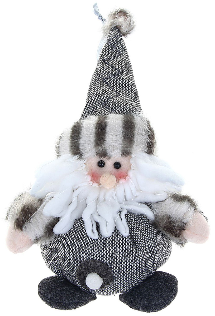 Новогоднее подвесное украшение Sima-land Дед мороз. Длинная шапка, 15 см1008810Новогоднее украшение Sima-land отлично подойдет для декорации вашего дома и новогодней ели.Елочная игрушка - символ Нового года. Она несет в себе волшебство и красоту праздника. Такое украшение создаст в вашем доме атмосферу праздника, веселья и радости.