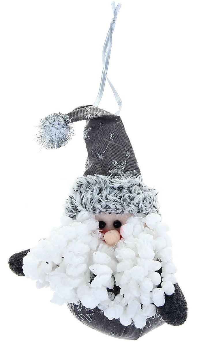 Новогоднее подвесное украшение Sima-land Кудрявая. Дед мороз, 10 см1008824Новогоднее украшение Sima-land отлично подойдет для декорации вашего дома и новогодней ели.Елочная игрушка - символ Нового года. Она несет в себе волшебство и красоту праздника. Такое украшение создаст в вашем доме атмосферу праздника, веселья и радости.