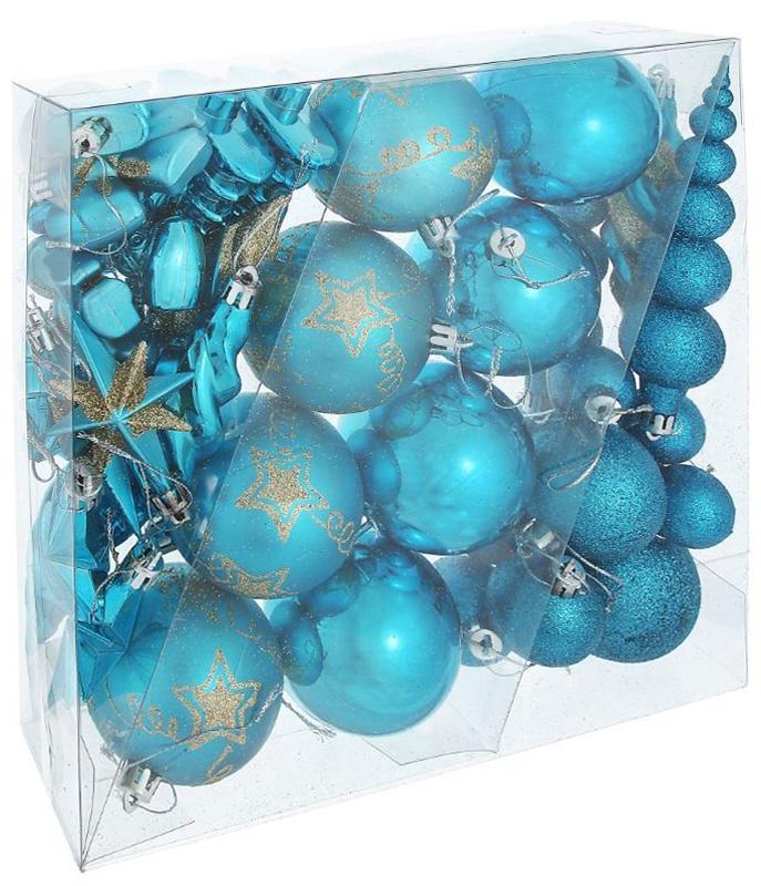 Набор новогодних подвесных украшений Sima-land Бирюза, 35 шт1009428Невозможно представить нашу жизнь без праздников! Мы всегда ждём их и предвкушаем, обдумываем, как проведём памятный день, тщательно выбираем подарки и аксессуары, ведь именно они создают и поддерживают торжественный настрой.