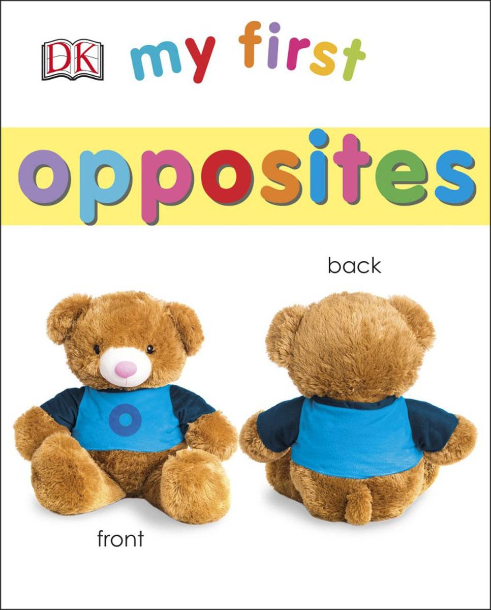 My First Opposites my opposites sticker activity book