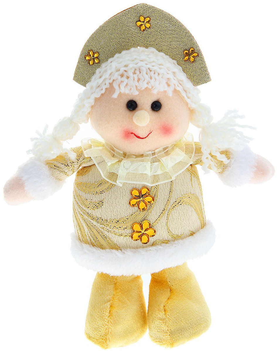 Новогоднее подвесное украшение Sima-land Девочка на ножках. Цветочек, 21 см1010440Новогоднее украшение Sima-land отлично подойдет для декорации вашего дома и новогодней ели. Елочная игрушка - символ Нового года. Она несет в себе волшебство и красоту праздника. Такое украшение создаст в вашем доме атмосферу праздника, веселья и радости.