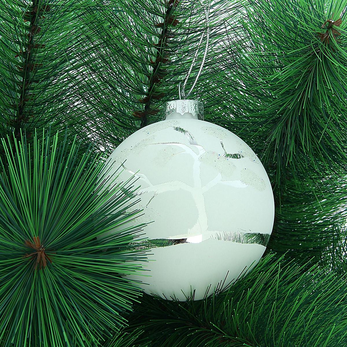 Новогоднее подвесное украшение Sima-land Деревце зеркальное, диаметр 8 см188125Новогоднее украшение Sima-land отлично подойдет для декорации вашего дома и новогодней ели. Елочная игрушка - символ Нового года. Она несет в себе волшебство и красоту праздника. Такое украшение создаст в вашем доме атмосферу праздника, веселья и радости.