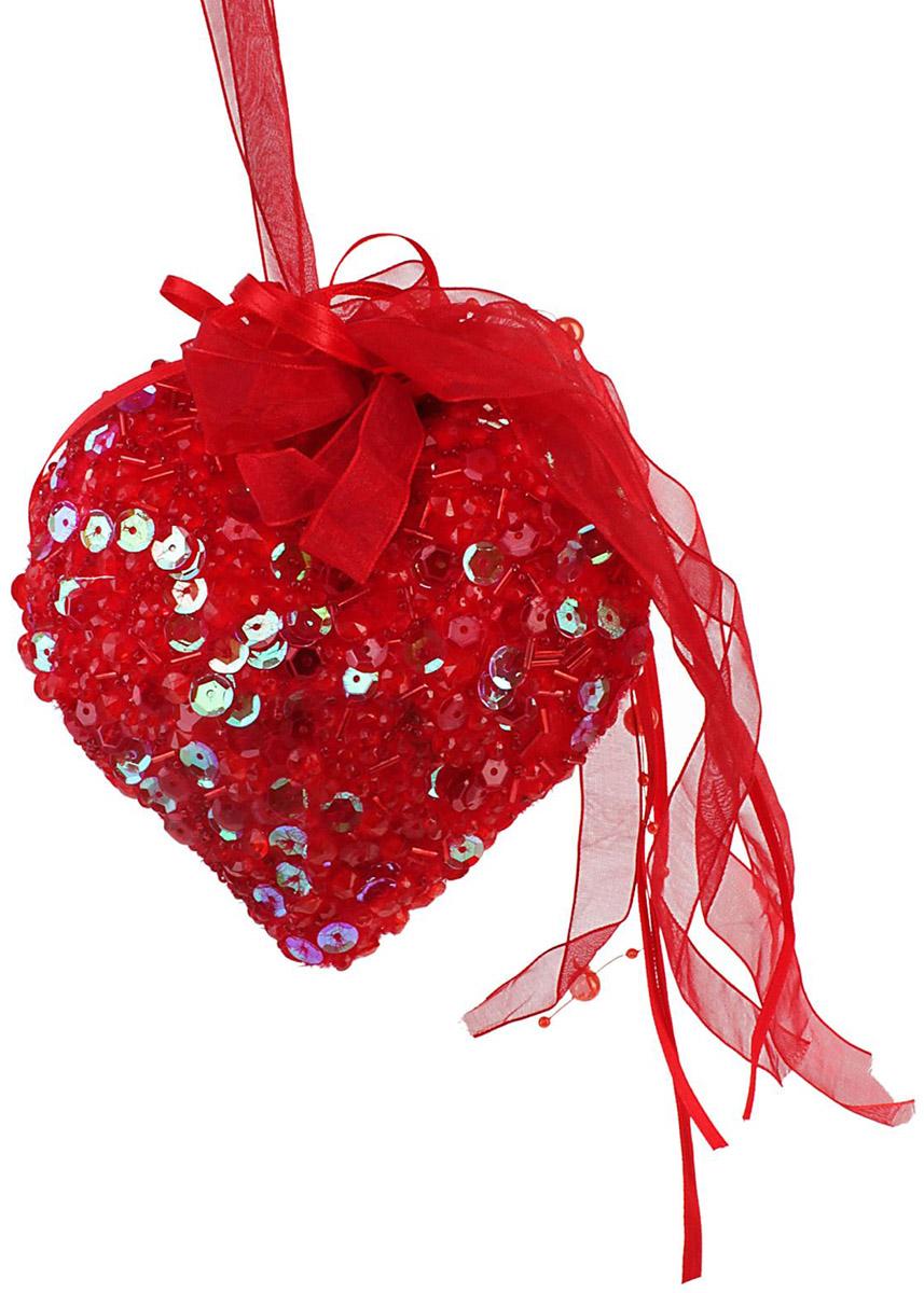 Украшение новогоднее елочное Sima-land Сердце. Блеск, 14 см538283Невозможно представить нашу жизнь без праздников! Мы всегда ждём их и предвкушаем, обдумываем, как проведём памятный день, тщательно выбираем подарки и аксессуары, ведь именно они создают и поддерживают торжественный настрой.