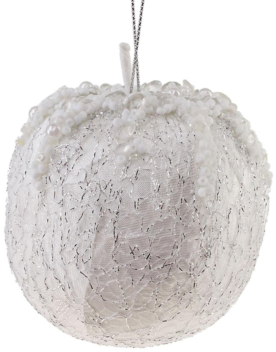 Новогоднее подвесное украшение Sima-land Яблоко мраморное, 13 см новогоднее подвесное украшение sima land зимний узор диаметр 8 см
