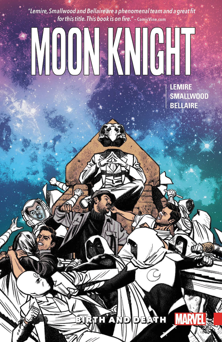 Moon Knight Vol. 3: Birth and Death the moon is down