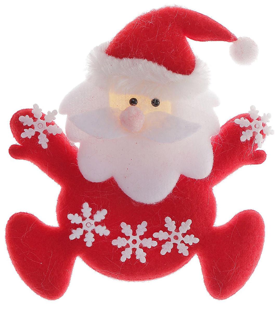Украшение новогоднее елочное Sima-land Магнит. Дед мороз, снежинка, 10 см718504Невозможно представить нашу жизнь без праздников! Мы всегда ждём их и предвкушаем, обдумываем, как проведём памятный день, тщательно выбираем подарки и аксессуары, ведь именно они создают и поддерживают торжественный настрой.