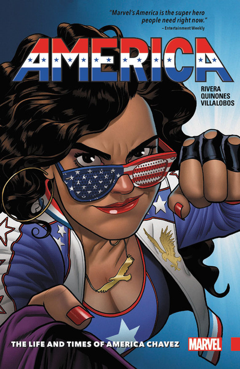 America Vol. 1: The Life and Times of America Chavez crystal palace stoke city