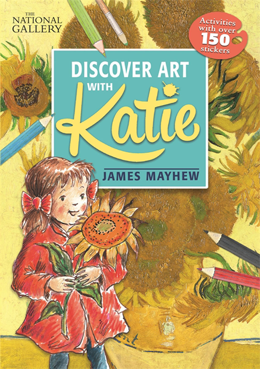 Katie: Discover Art with Katie my counting sticker activity book